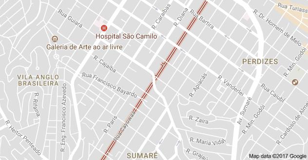 Rua Caiowaá circulação