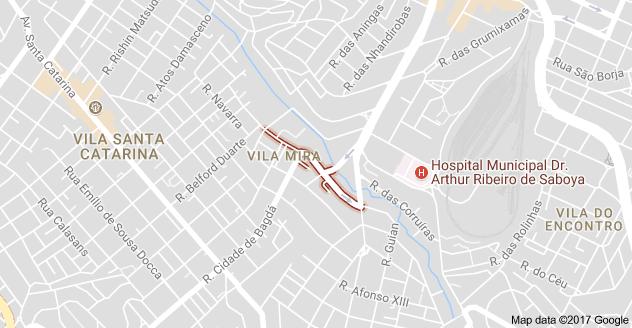 Rua Genaro de Carvalho Rua Jupatis