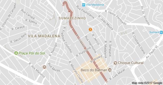 Rua Girassol Vila Madalena