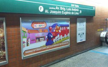 Publicidade Metrô