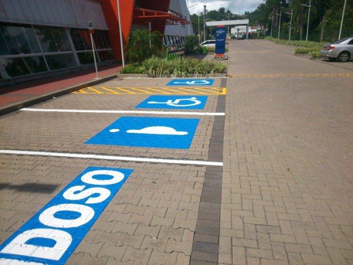 vagas estacionamento vagas especiais
