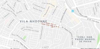 Avenida Aldeia Manuel Antônio Vila Nhocuné