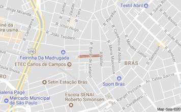Rua Júlio Ribeiro circulação