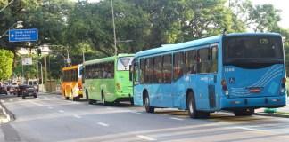 Passagem de ônibus em São José dos Campos