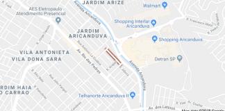 Rua Luís Gonzaga de Sylos Jardim Aricanduva