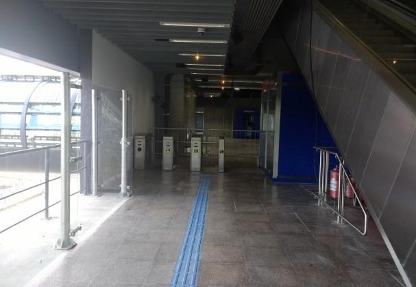 mezanino haddad estação