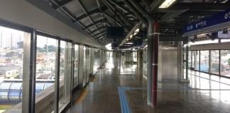 Concessão Linha 15-Prata Plataforma Estação Camilo Haddad