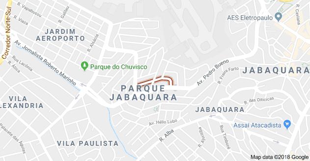 Rua Doutor Mário Mourão Parque Jabaquara