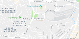 Metrô Itaquera Avenida Jean Khoury Farah