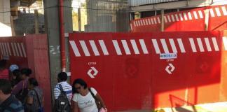 obras escada rolante