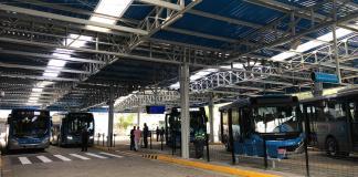 Zona Sul terminal parelheiros reforma