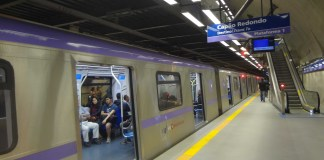 mau cheiro Estação Hospital São Paulo Linha 5-Lilás