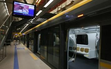 Linha 4-Amarela Carnaval Linha 4 ViaQuatro de passageiros