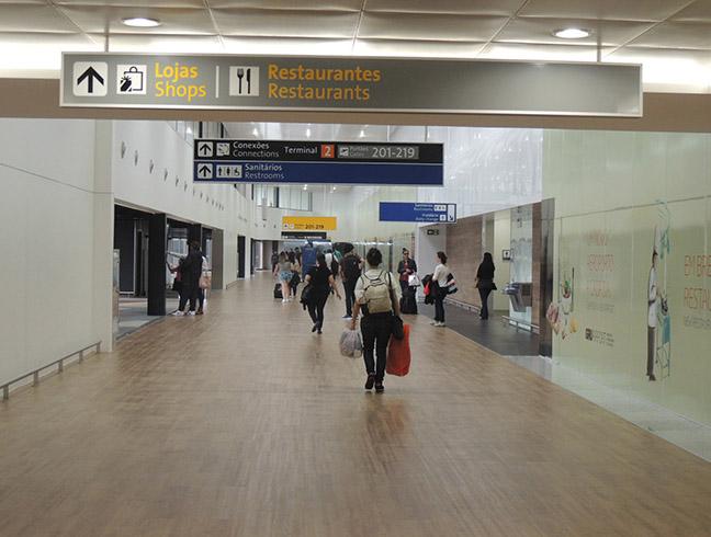 terminal 2 aeroporto guarulhos