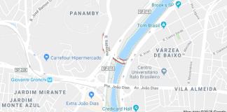 Marginal Pinheiros Ponte Edson de Godoy Bueno
