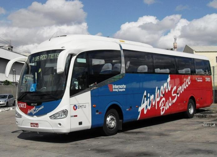 Micro-ônibus Airport Bus Service Linha