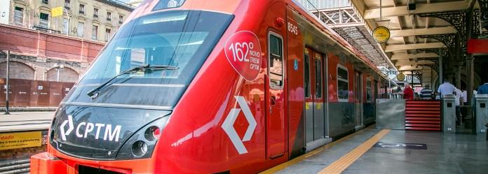Jogos na Arena Corinthians Estação Guaianases Novos trens Linha 11-Coral Expresso Leste