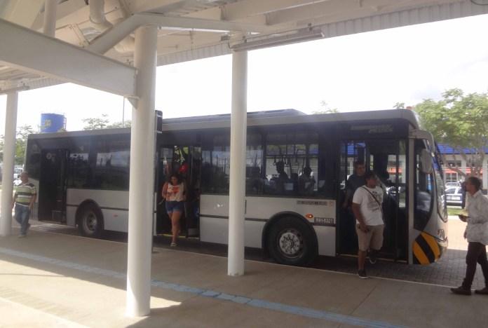 ônibus gratuito aeroporto