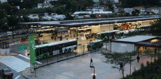 Terminal Pirituba SPTrans na região