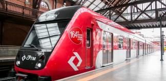 Novo trem Linha 7 Novos trens