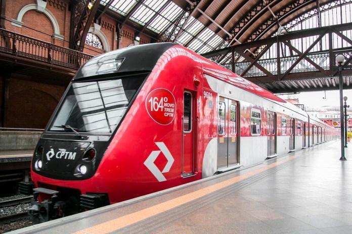 Linhas CPTM Metrô Linha 7-Rubi Réveillon Fuvest Domingo Intervalos Sistema Metropolitano Novo trem Linha 7 Novos trens