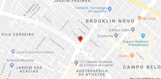 Circulação Avenida Santo Amaro Cruzamento