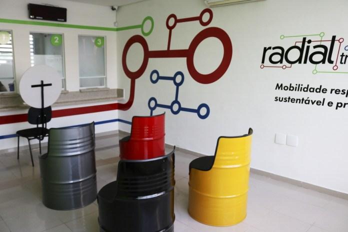 espaço radial novo