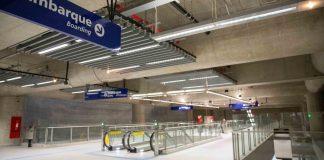 Linha 5-Lilás Estação Campo Belo Interior