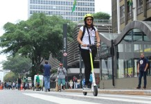 Patinete da Scoo na Semana da Mobilidade