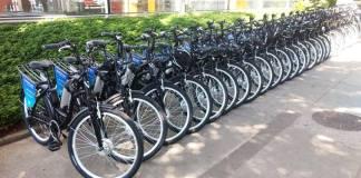 Bicicletas elétricas E-moving