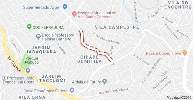 Rua Benigno Carrera