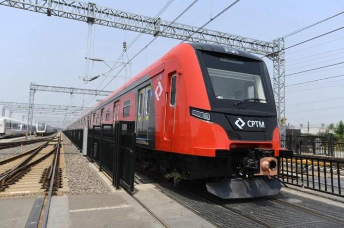 Trem série 2500 Linha 13-Jade