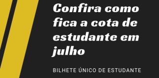 Cota Bilhete Único de Estudante