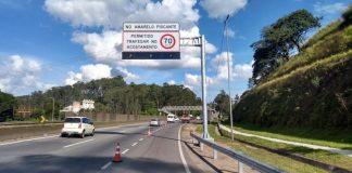 Recurso na rodovia Fernão Dias