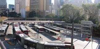 Obras no Terminal Bandeira no Centro
