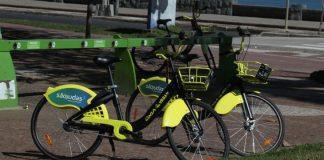 Bicicletas compartilhadas da Cinza Urban