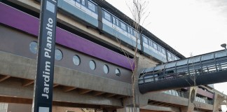 Estação Jardim Planalto Lado externo