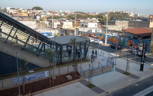 Estação Jardim Planalto Rua Francisca Marinho
