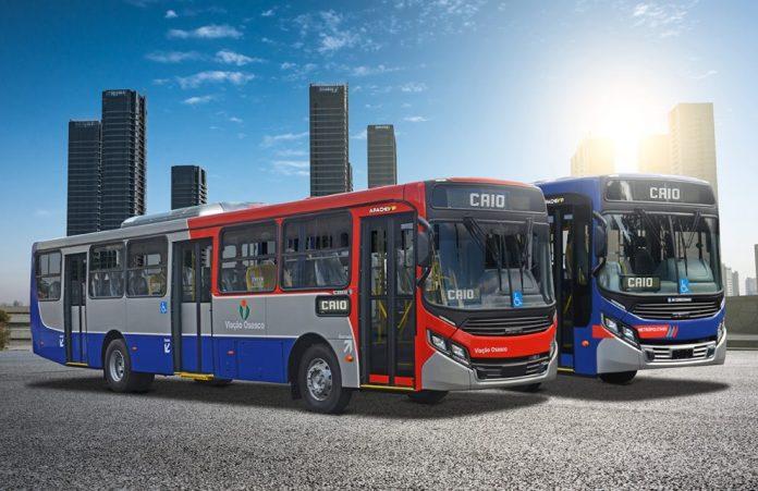 Novos ônibus Viação Osasco