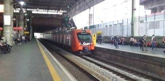 Plataforma 1 Estação Brás
