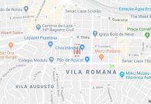 Rua Antônio Calafiori Vila Romana