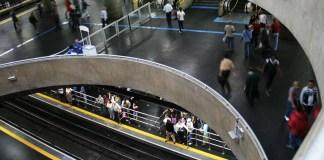 Estação Sé Linha 3-Vermelha Metrô Frota de trens Linha 1-Azul