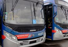 Ponte dos Barreiros Linhas de ônibus EMTU Linhas intermunicipais Novos ônibus