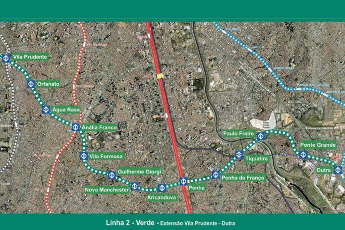 Extensão da Linha 2-Verde