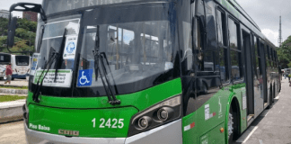 Ônibus Provas do Enem SPTrans