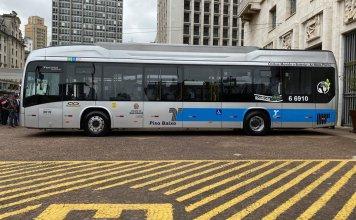 Ônibus elétrico Transwolff