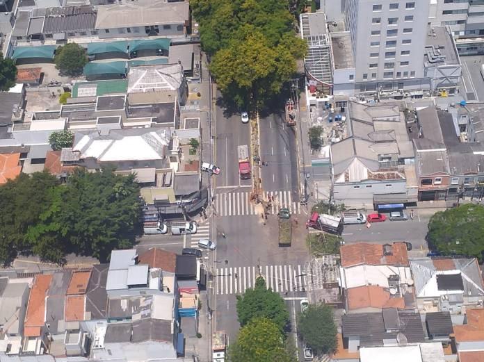 Avenida Pompeia do alto
