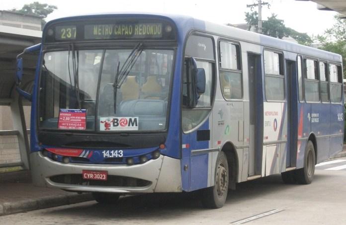 Linha 237 da EMTU Ônibus intermunicipal