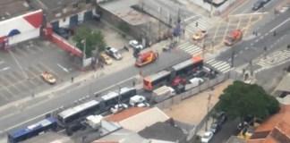 Motocicletas na Avenida Francisco Morato
