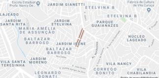 Rua Antônio Januário Ferraz Jardim Etelvina
